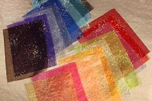 Decorative Wedding Invitation Fabric Envelope Sleeve